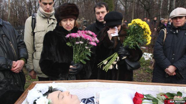 смерть сергея магнитского. похороны. суд
